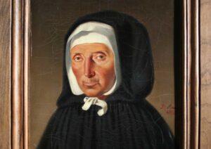 portrait de Jeanne Jugan par Léon Brune