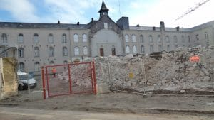 démolition de la maison de Nantes