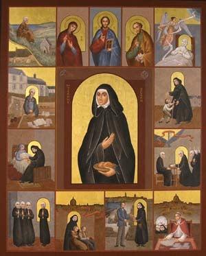 la vie de sainte Jeanne Jugan