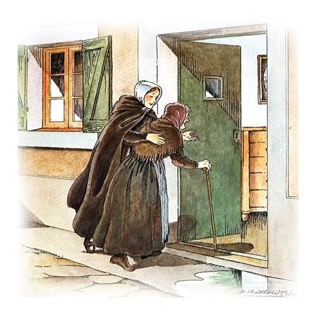 miniature accueil Anne Chauvin par Jeanne Jugan