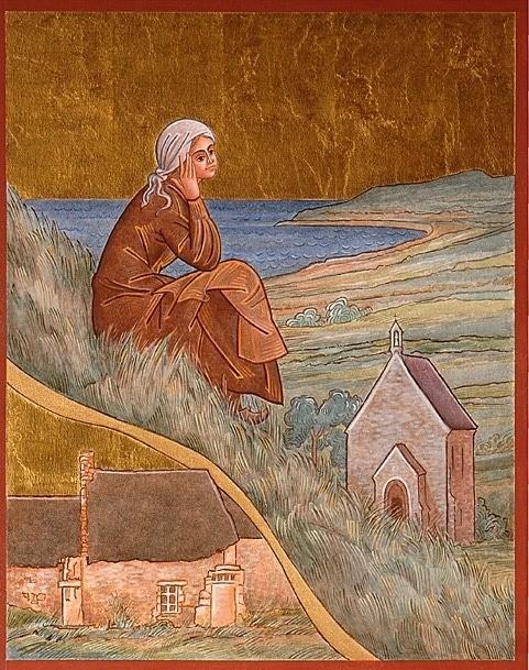 Jeanne Jugan et Notre Dame du Verger