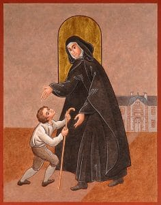 Jeanne Jugan et le premier miracle