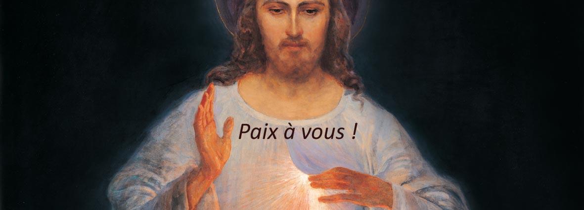 Image de Jésus Miséricordieux