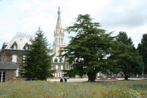 vue du Noviciat de La Tour St Joseph en Bretagne