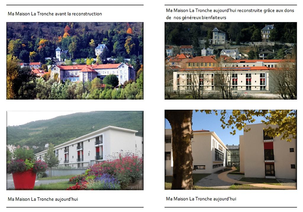 Ma maison de Grenoble avant et après la reconstruction