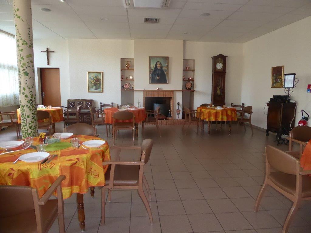 Salle à manger de la maison de Pau