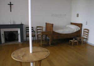 chambre où Jeanne Jugan est décédée