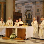 Messe en l'honneur de Jeanne Jugan lors de sa Canonisation