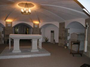 Crypte où repose Jeanne Jugan