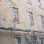 Ma Maison des Petites Sœurs des Pauvres Lyon Croix-Rousse avant la rénovation de la façade