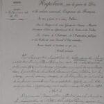 Décret Impérial des Petites Soeurs des Pauvres de Lyon Croix-Rousse