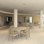 Reconstruction de ma Maison des Petites Sœurs des Pauvres de Lyon Croix-Rousse: future salle à manger