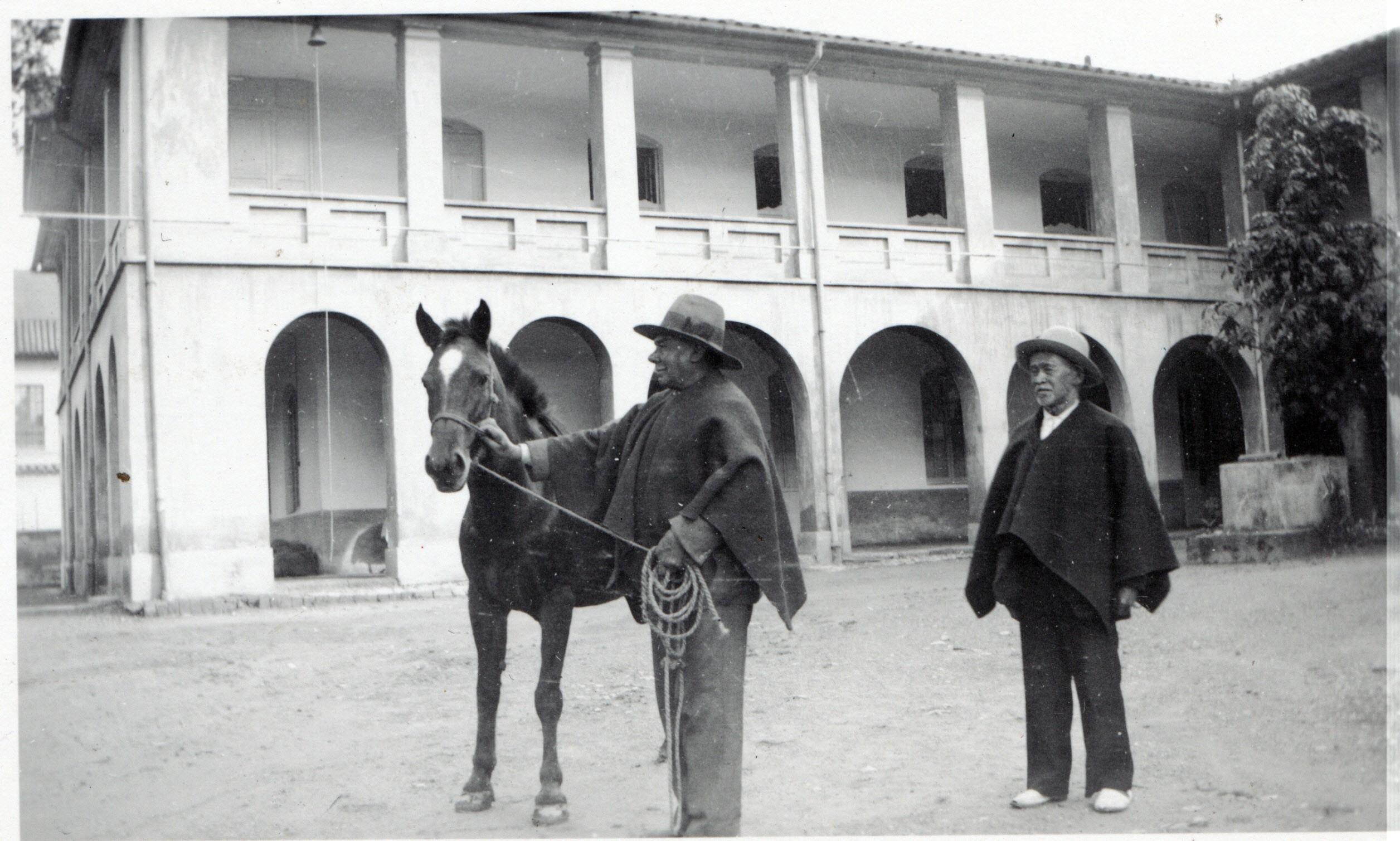 La première maison de Bogota