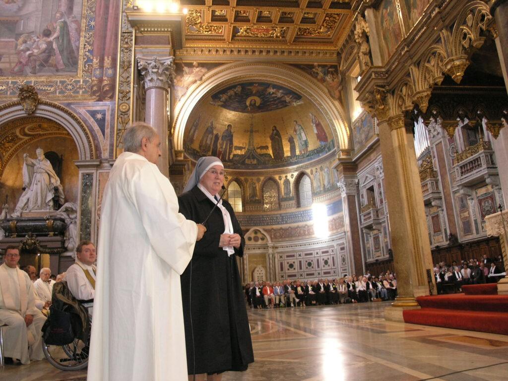 Mère Celine de la Visitation, Supérieure générale de la Congrégation