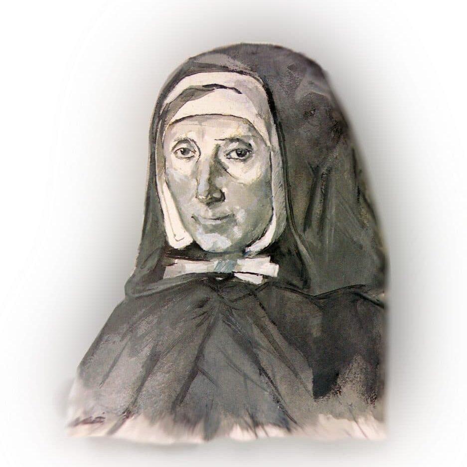 portrait de Jeanne Jugan par Dina Bellotti