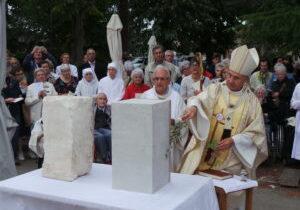 Bénédiction de la première pierre de la maison de Toulouse