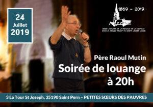 Soirée louange 24 juillet 2019