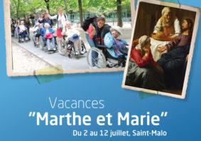 vacances Marthe et Marie 2018